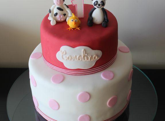 Bolo Panda e Amigos